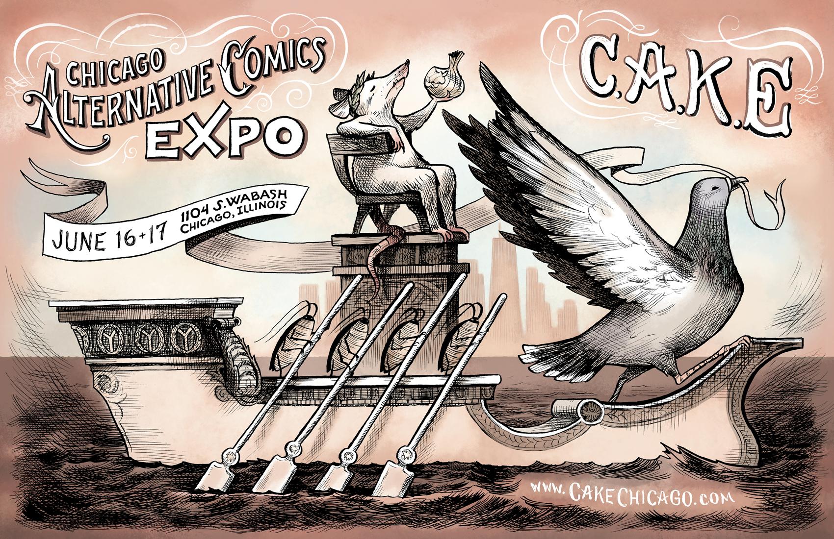 chicago alternative comics expo - HD1700×1100