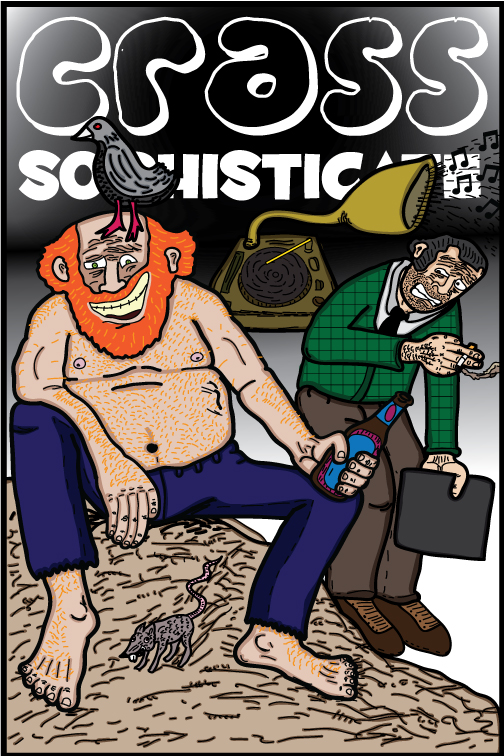 Crass Sophisticate #31 Cover